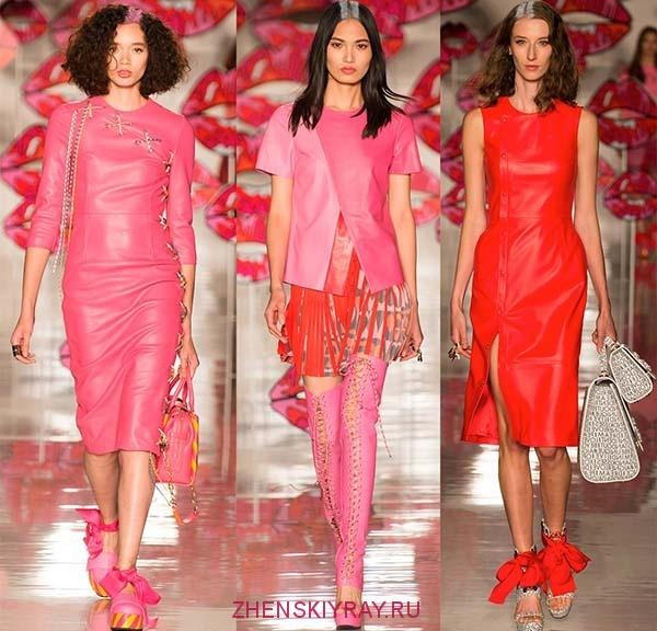 кожаные изделия 2018 модные тенденции