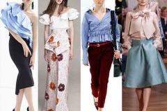 блуза 2017 тенденции