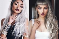 стильное окрашивание волос 2018 смоки-блонд
