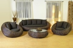 красивая ротанговая мебель