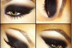 как красиво накрасить зеленые глаза