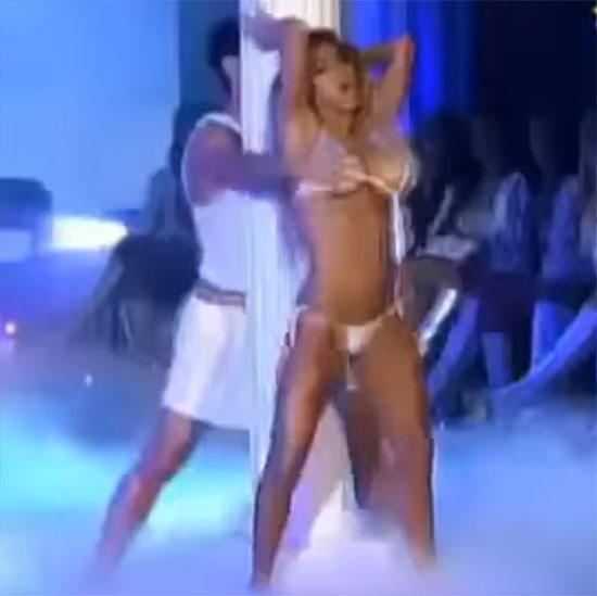 синтия фернандес скандал на танцах стриптиз фото