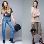 модные джинсы и юбки