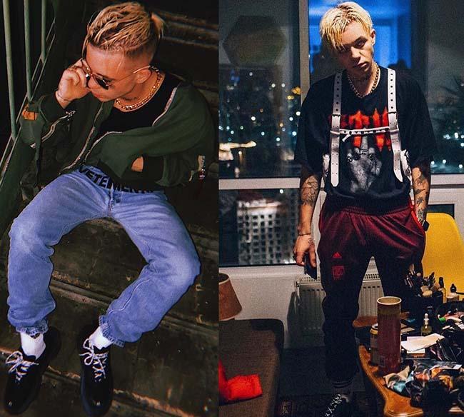 мода 2018 Элджей стиль
