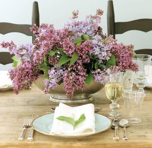 цветочный букет для декора стола