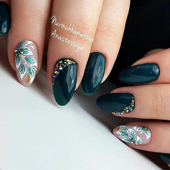 фото новинок модного дизайна ногтей