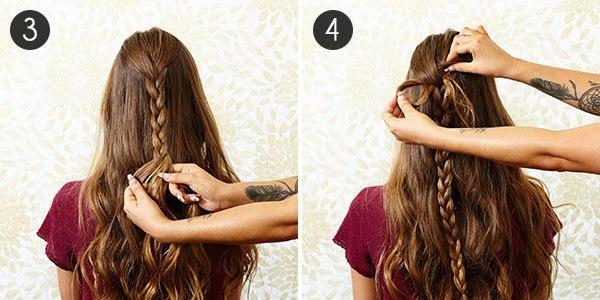 фото как сделать объмную косу в стиле русалки