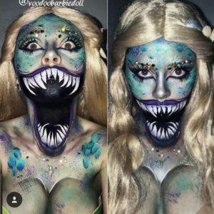 хэллоуин макияж страшилки