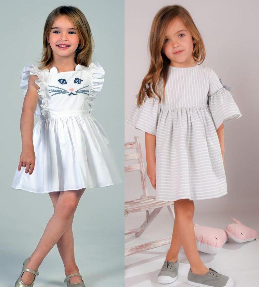 модные платья дети 2019