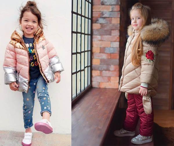 детские куртки  2019