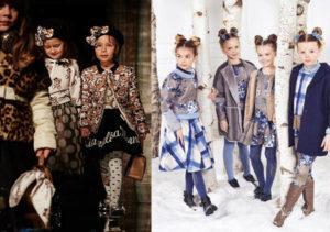 модные тенденции детские 2019