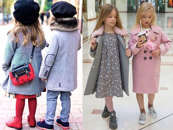 детские пальто 2019 фото