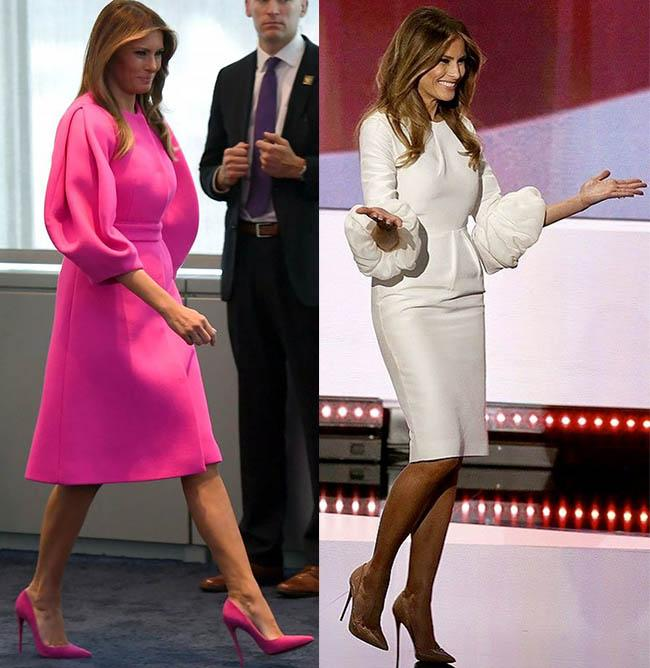 шикарные деловые платья как у мелании трамп