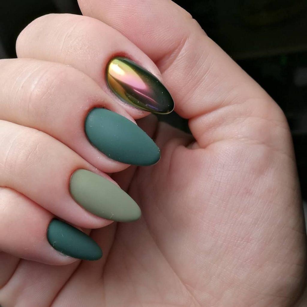 маникюр минимализм модный дизайн ногтей 2019-2020