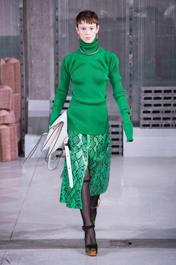 мода юбки 2019 2020 принт питон