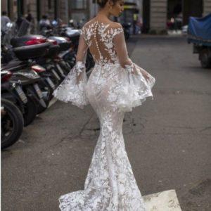 свадебный наряд для невесты кружево 2019