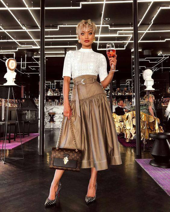 мода юбки 2019 2020 фото