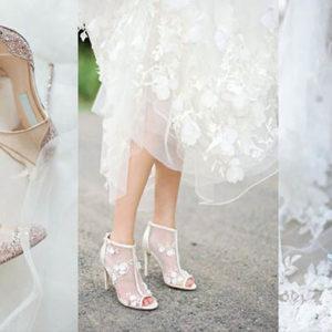 свадебные туфли на каблуке мода 2019-2020