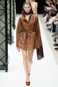 кожаное пальто 2019