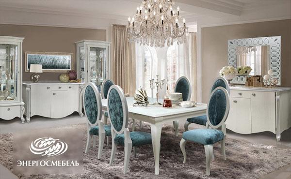 мебель из дуба для гостиной Изумруд Луиза