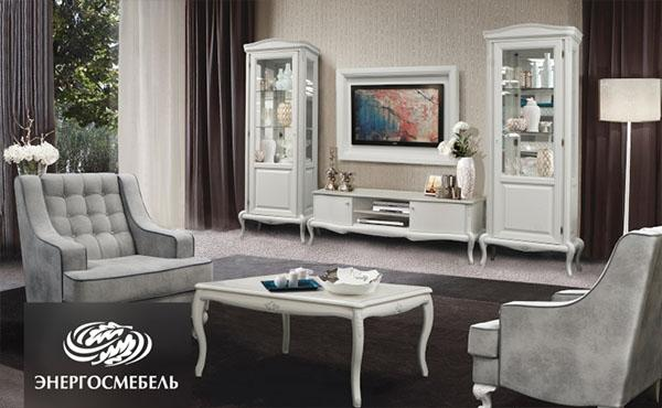 Гостиная Мокко интерьер мебель