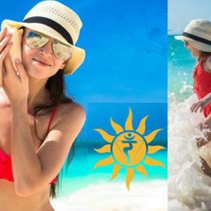 уход за кожей от солнца, защитные крема для лица
