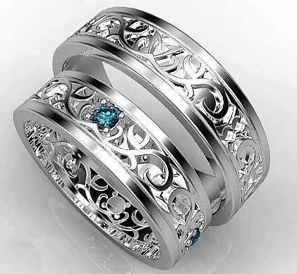 обручальные кольца 2019-2020 мода фото