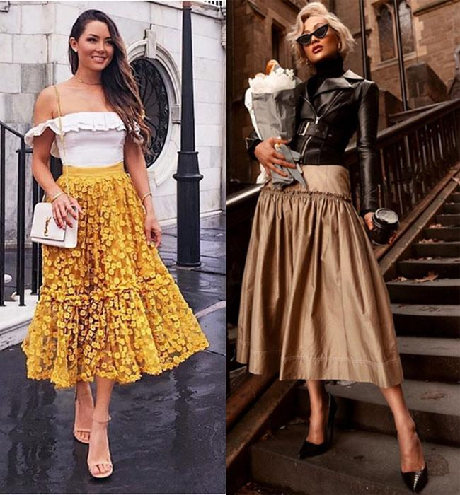 мода юбки 2020