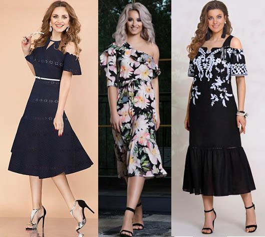 модные платья 2019-2020 фасоны