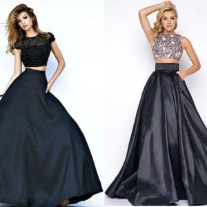 на выпускной топ с юбкой красивая мода 2019-2020