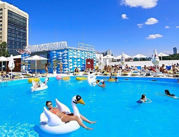 Пляжи Киева, куда пойти лето отдыхать в Киеве