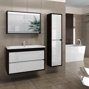 мебель для ванной лаконично и стильно