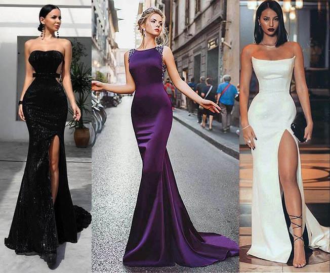вечерние платья годе 2019-2020