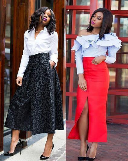 стильные юбки 2020-2021 тенденции
