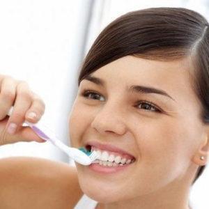 чистка зубов поэтапно