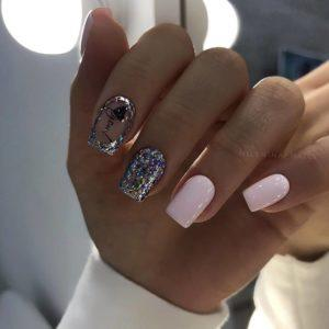 новогодний дизайн ногтей 2020 фото