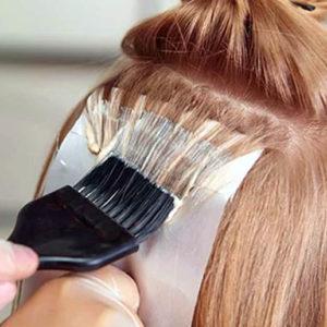 окрашивание волос смывка