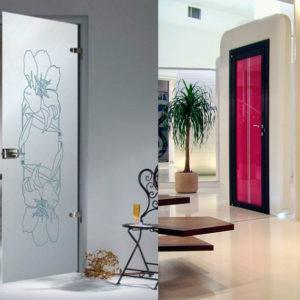 как выбрать межкомнатные стеклянные двери