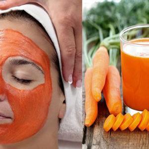 уходовая косметика, рецепт масок из моркови