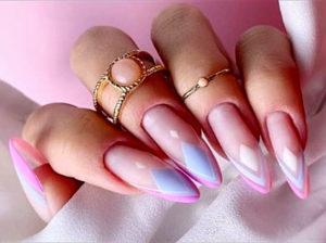 узоры на ногтях геометрия фото