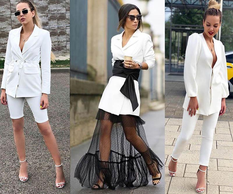 стильные пиджаки 2021 белого цвета