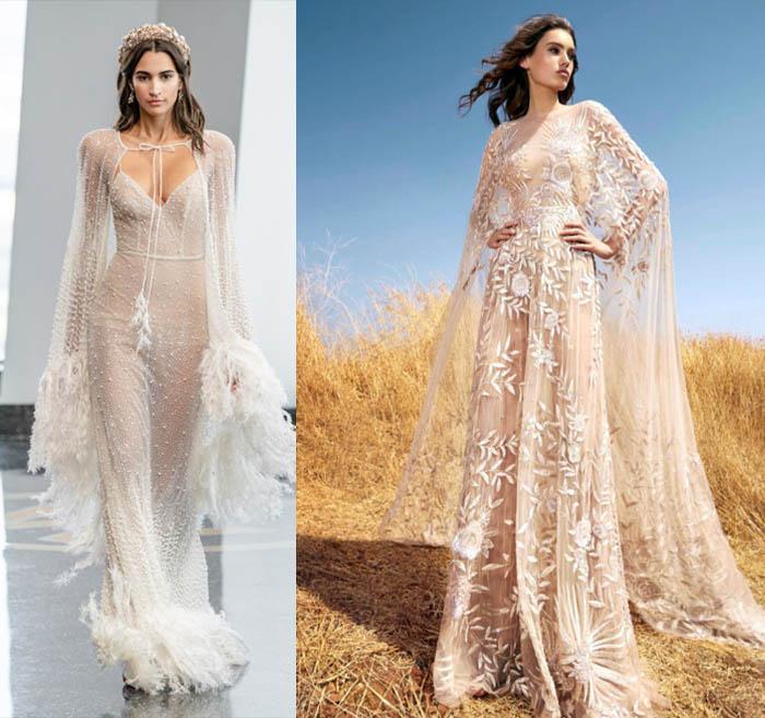 кружевные свадебные платья 2020-2021