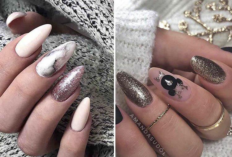 стильный жизайн ногтей 2021