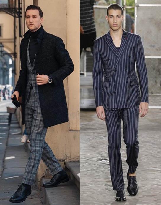 модный мужской костюм 2020-2021 принты