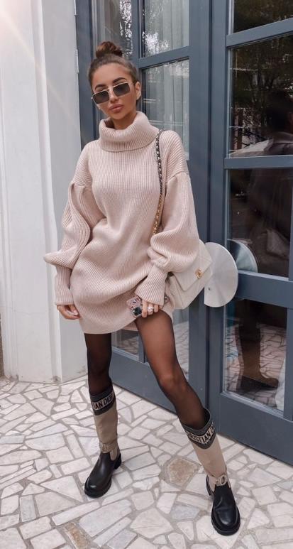 стильные длинные свитера 2021 узоры объемные рукава