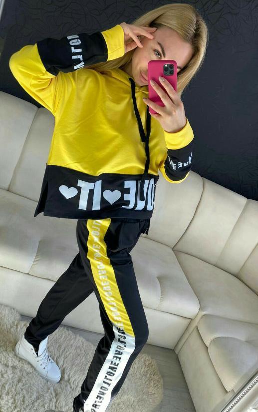костюм плащевка джоггеры с карманами 2021