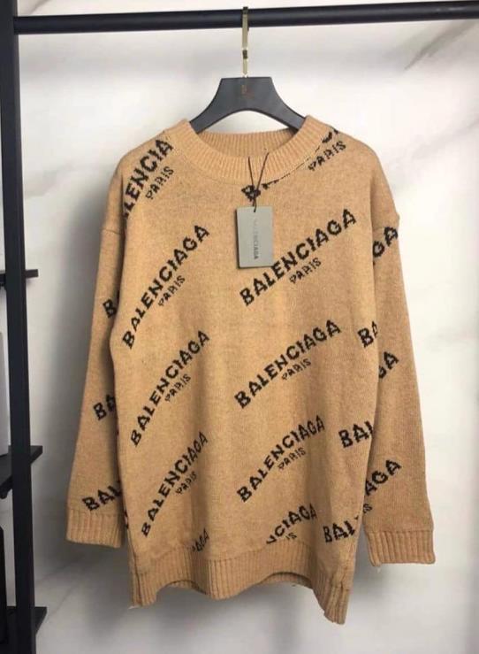свитер баленсиага мода 2021