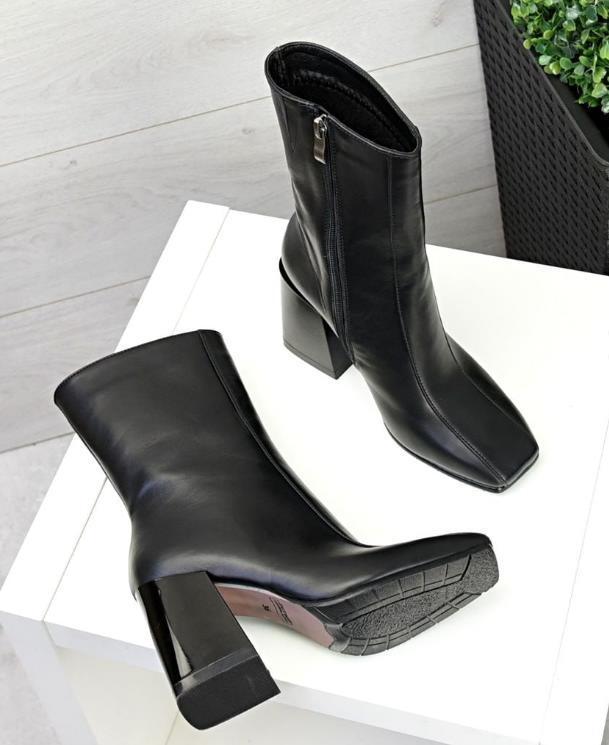 модные полусапожки на каблуках 2021