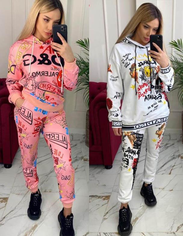 костюмы штаны принты 2021