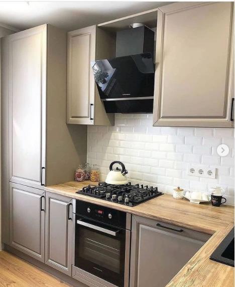 уютная маленькая кухня фото интерьера